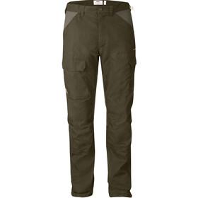 Fjällräven Drev Pantalones Hombre, dark olive